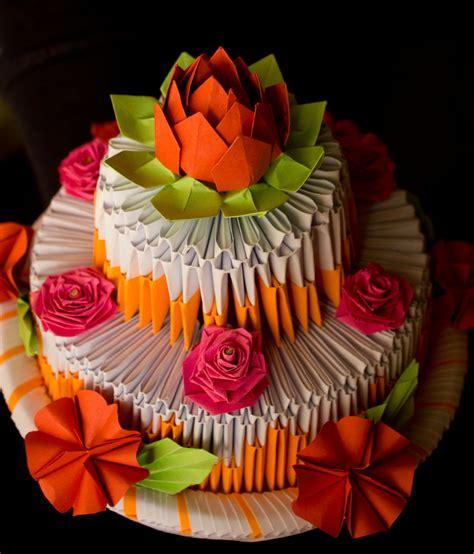 Origami Birthday Cake - pap 237 rvil 225 g pap 237 rtorta origami cake