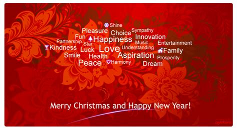 christmas  happy  year wishes