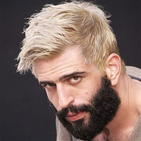 mens hairstyles dyed blonde mens blonde hairstyles 2017 hairstyles