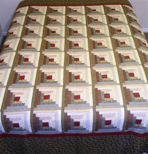 design pattern logger log cabin quilt designs sewing quilts pinterest log