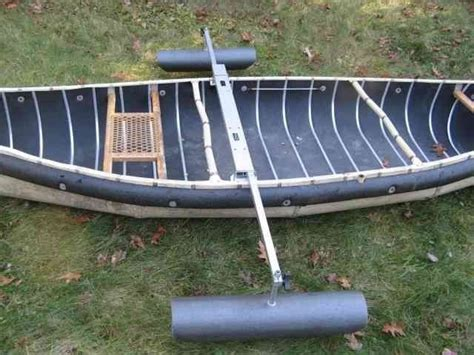 canoe stabilizers pontoons on outriggers to prevent - Canoe Pontoons