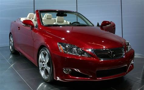 lexus convertible 2010 2010 lexus is 250c convertible airy luxury starting below