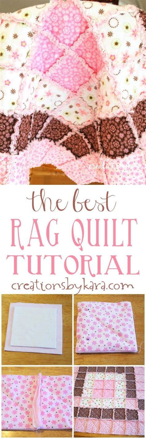 quilting tutorial step by step baby rag quilt tutorial