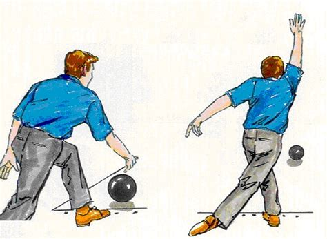 bowling arm swing and release bowling release follow through