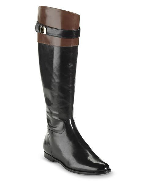 cole haan flat boots daelin bloomingdale s