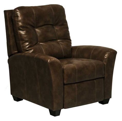 Catnapper Recliner Handle by Catnapper Cooper Bonded Leather No Handle Multi Position Reclining Chair Chocolate Cn 5537