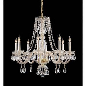 chandeliers swarovski crystorama 8 light chandelier with swarovski strass