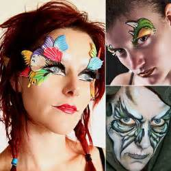 easy face paintings for halloween 15 easy last minute halloween costume face paint ideas