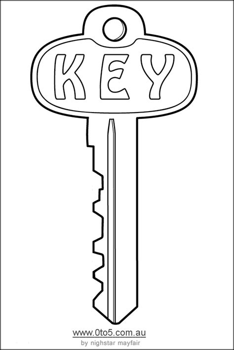 key template printable template key bulletin board ideas