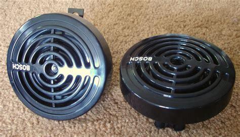 I Klakson Bosch Supertone Black file bosch europa black grille dual tone supertone horns front jpeg wikimedia commons