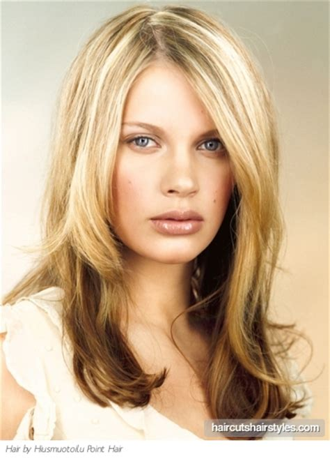 2 town hair color styles two tone long hair style