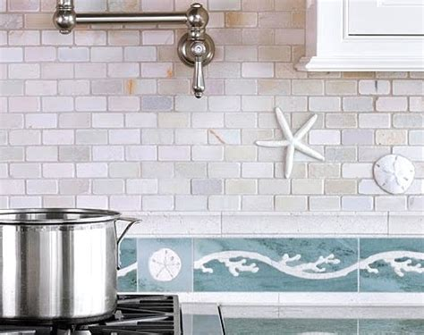 backsplash kitchen tiles a coastal kitchen tiles backsplash brings the inside