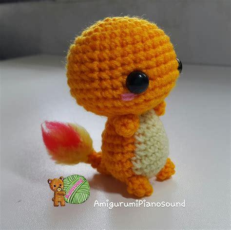 amigurumi pattern free pokemon amigurumipianosound crochet blog charmander hitokage