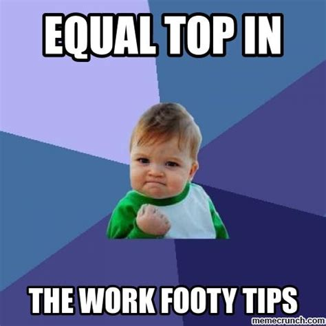 Tips Meme - footy tips