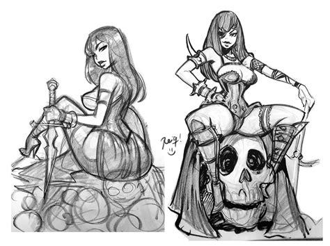 sketchbook reiq slayers sketch by reiq on deviantart