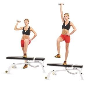 bench step ups 17 best images about arms on pinterest bar workout