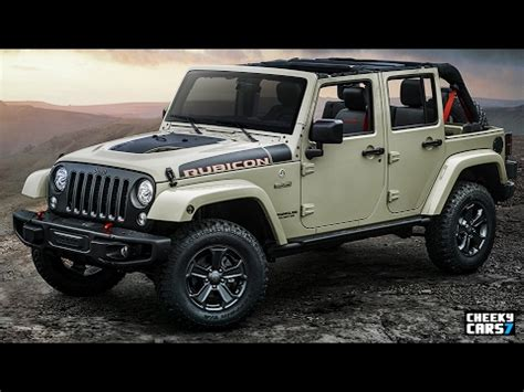 2018 jeep wrangler rubicon recon redesign | jeep latitude