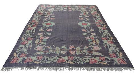 kilim area rugs bessarabian floral kilim area rug 8 x 10 chairish