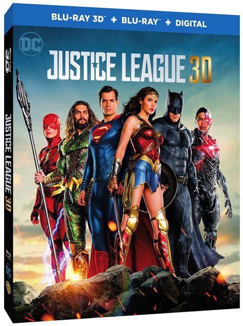 film blu ray 3d 4k justice league digital 4k blu ray dvd release dates