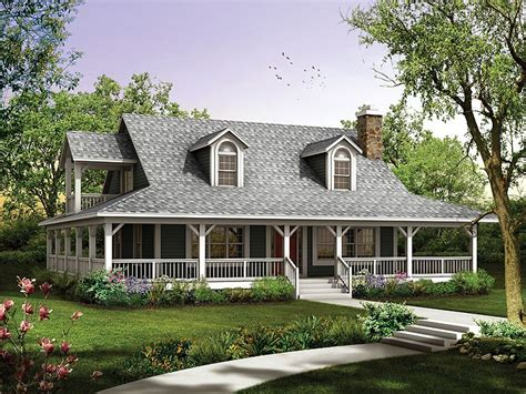 Two Story Country House Plans by Plan 057h 0034 Find Unique House Plans Home Plans And