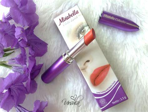 Lipstik Mirabella Matte Expert review mirabella colorfix 72 ursula meta rosarini