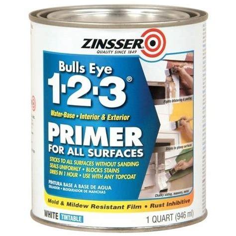 water based paint based primer zinsser bulls eye 1 2 3 water based primer walmart