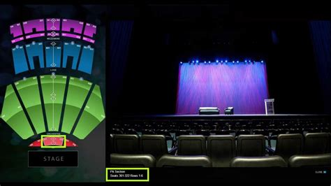 nokia theatre los angeles seat setup youtube