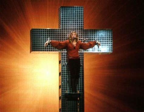 Nbc Special Wont Show Madonna On Cross by Nbc Plans To Censor Madonna Popsugar
