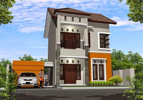 desain rumah nuansa coklat contoh desain rumah tips menentukan warna cat dan desain interior rumah mungil
