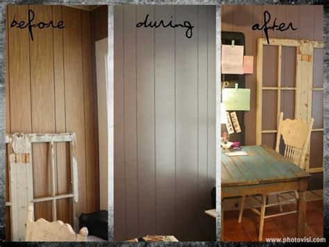 Painting Wood by Painting Wood Paneling Without Sanding Loccie Better
