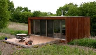 Compact Houses Prefabs Modular House Weehouse Prefab House Design From