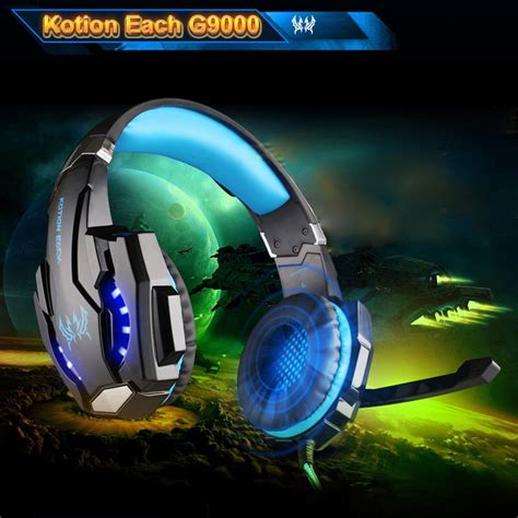 laptop for light gaming and kotion each g9000 3 5mm gaming headphone headset earphone