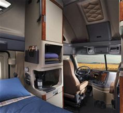 Inside Of An 18 Wheeler Sleeper by Kenworth Sleeper Cabs Interior View Images Biggg