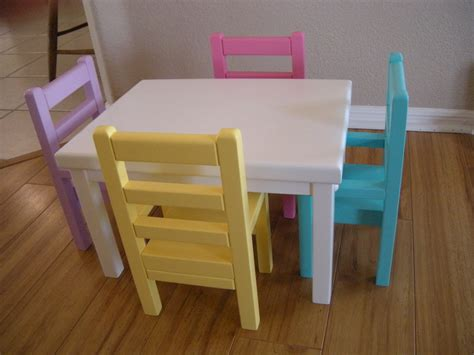 american doll table and chairs kitchen table and chairs for american by