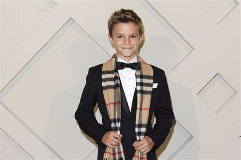 Beckham Set 3 In One 1621 Romeo Beckham 12 Paid 163 45 000 For One Day S Work On