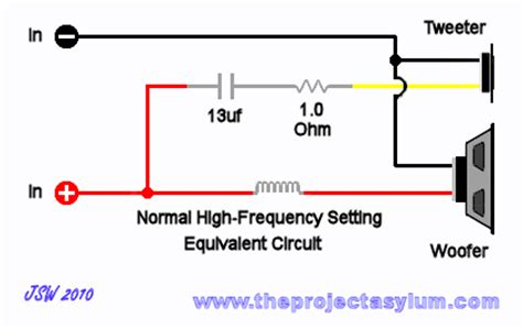 advent speaker crossover schematic diagrams