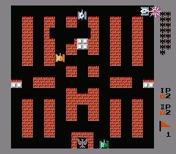 battle city (nes) online game | retrogames.cz
