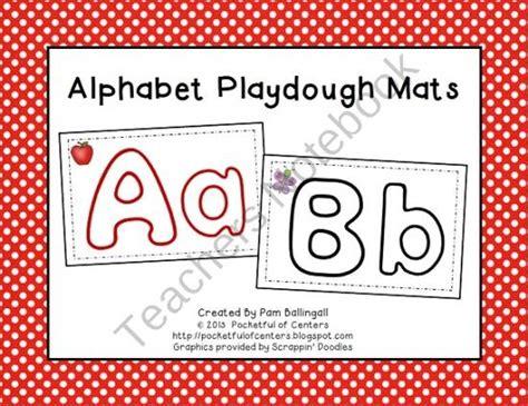 printable alphabet mat alphabet abc playdough mats product from pocketful of