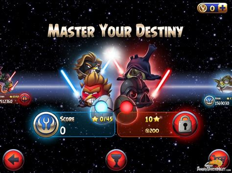 angry birds star wars 2 update angry birds star wars ii master your destiny update out