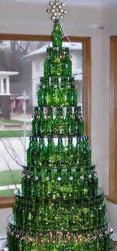 green art bottles recycled into beautiful form and