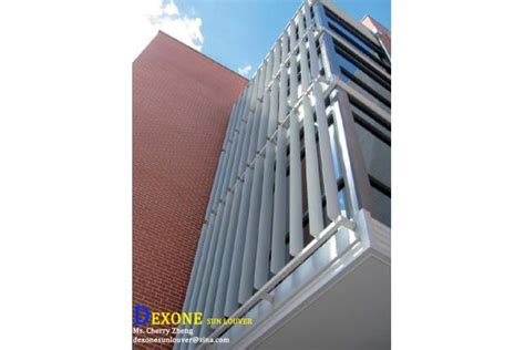 curtain wall louvers vertical louvers for curtain wall