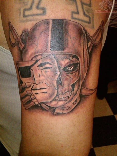 raider tattoos oakland raiders images designs