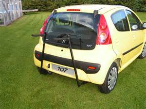 Peugeot 107 Towbar Toyota Aygo Citreon C1 Peugeot 107 Car Cycle Carrier