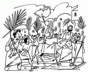 palm sunday triumphal entry jerusalem