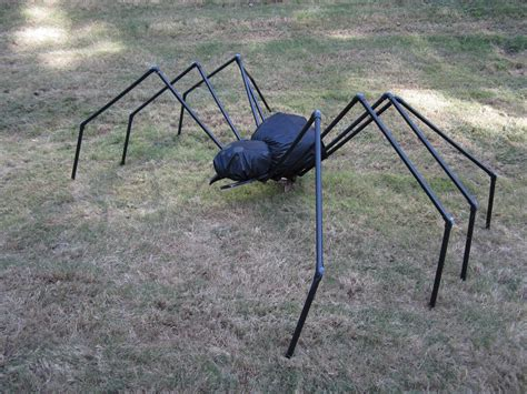 halloween pvc yard spider  questions  answers
