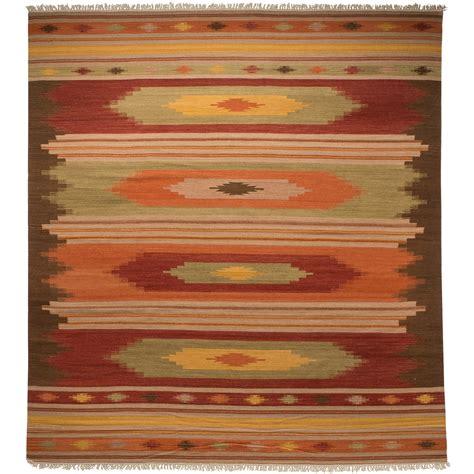 8x10 kilim rug safavieh kilim collection multi brown area rug 8x10 tufted wool save 30