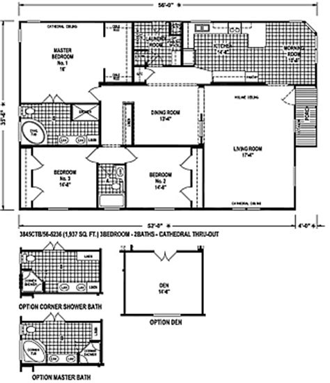 skyline mobile homes floor plans 28 images custom