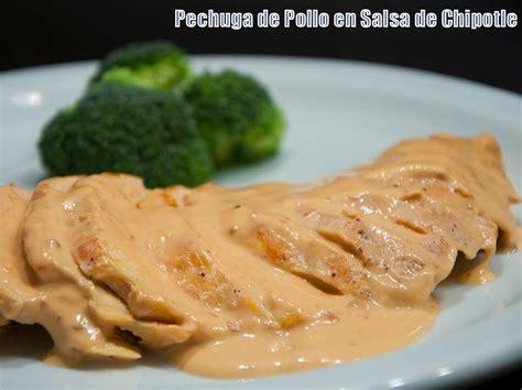 cocinar pechugas de pollo en salsa pechuga de pollo en salsa de chipotle tenga de pollo