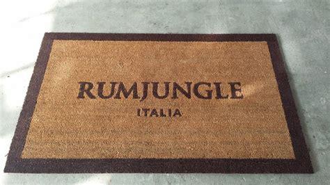 zerbino cocco naturale zerbino personalizzato in cocco naturale rum jungle a roma