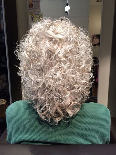 gray hair and perms 24 best perm hairstyles images on pinterest perm